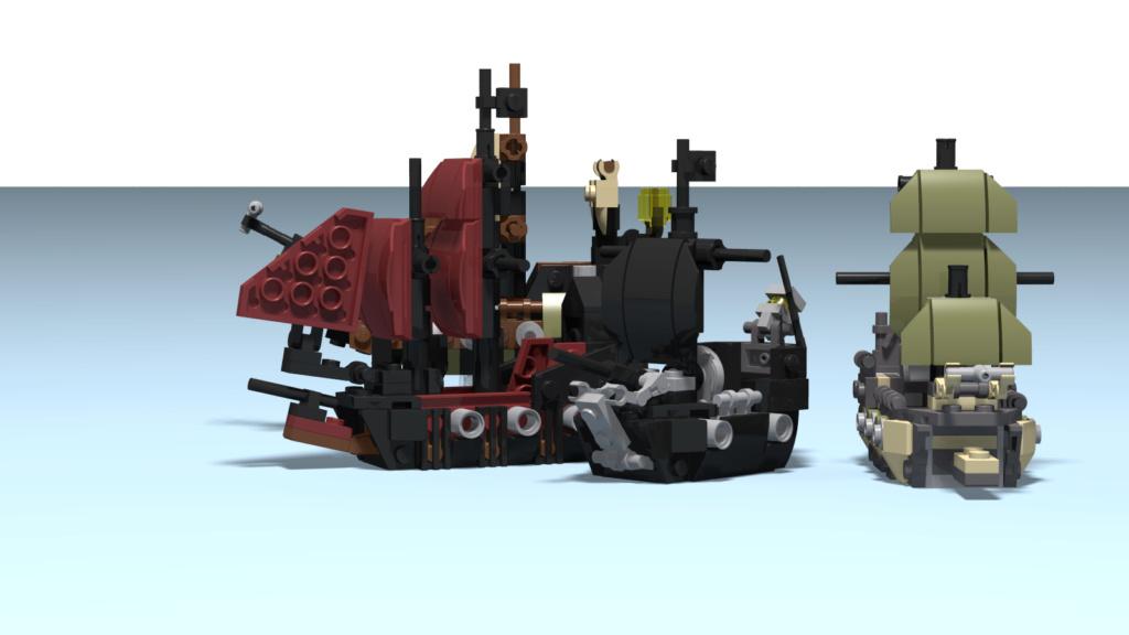 lego mini piratas del caribe Queen_12