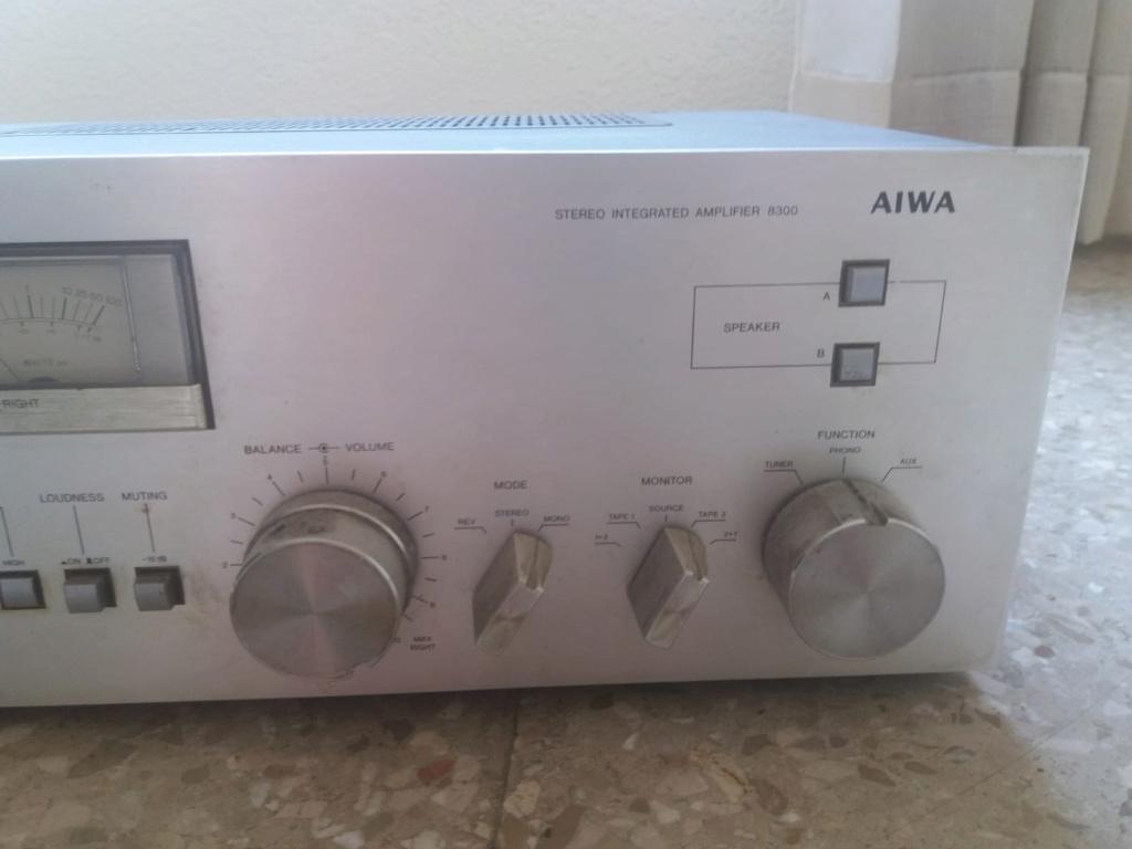 No sé por cuánto puedo vende un amplificador, ayuda!!! Aiwa110