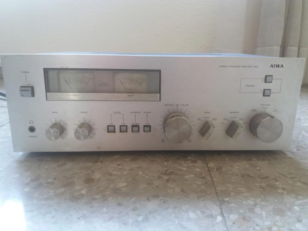 No sé por cuánto puedo vende un amplificador, ayuda!!! Aiwa210