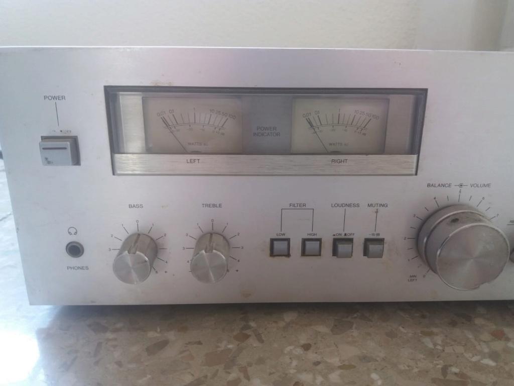 No sé por cuánto puedo vende un amplificador, ayuda!!! Aiwa310
