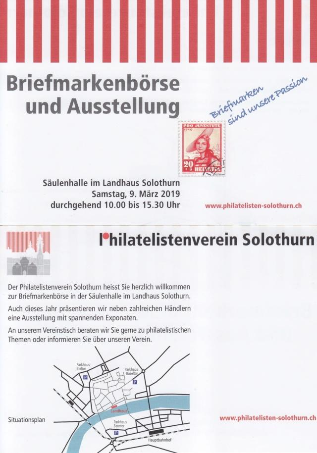 Briefmarkenbörse und Ausstellung - Solothurn Flyer_10