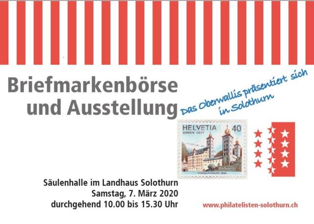 Briefmarkenbörse und Ausstellung - Solothurn Flyer_12