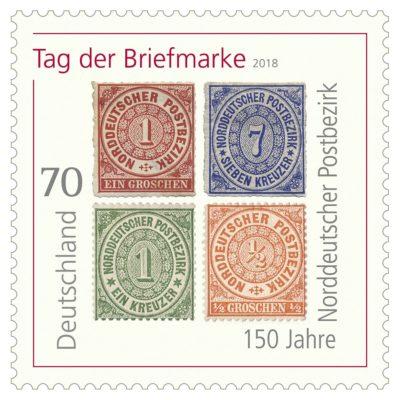Deutschland - Tag der Briefmarke- Norddeutscher Postbezirk Tagder10