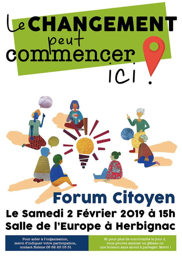 Forum Citoyen à Herbignac Forum-10