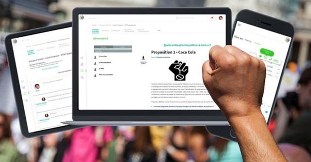 Manifestation numérique, Lobbying et action citoyenne United11