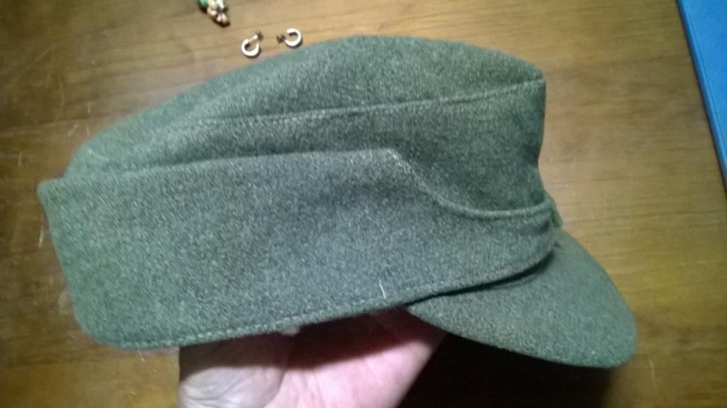Identification casquette allemande M43310