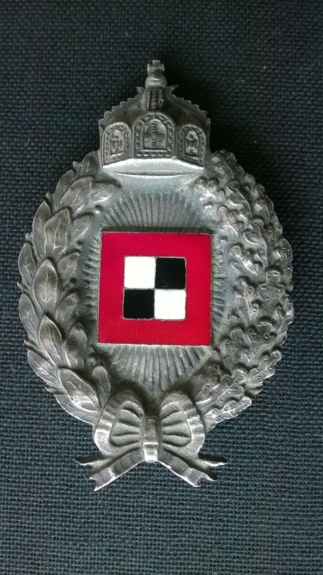 Identification fabricant badge observateur ww1 Wp_20213