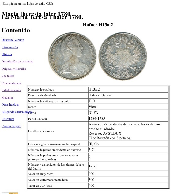 1 thaler Austria Maria theresia  F0dd8110