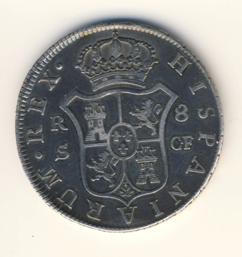 8 reales Charles III 1773 Seville 177311