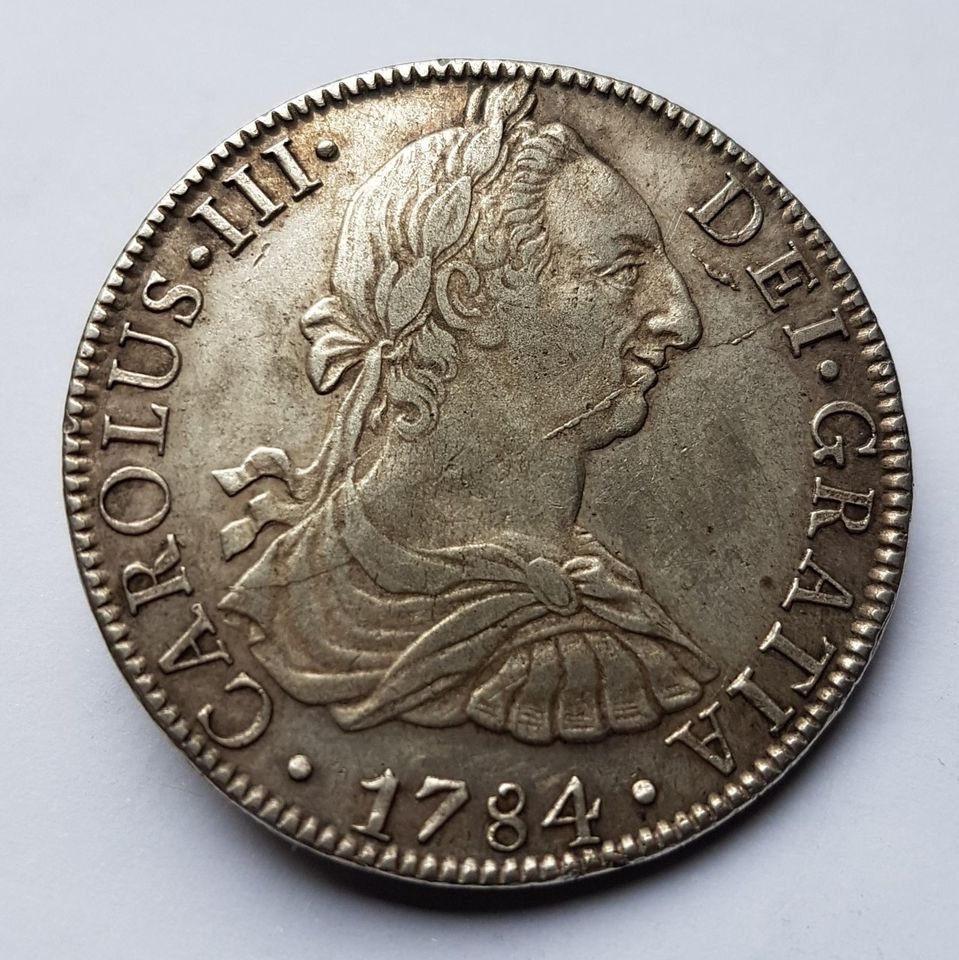 8 Réales 1784 Mexique 178410