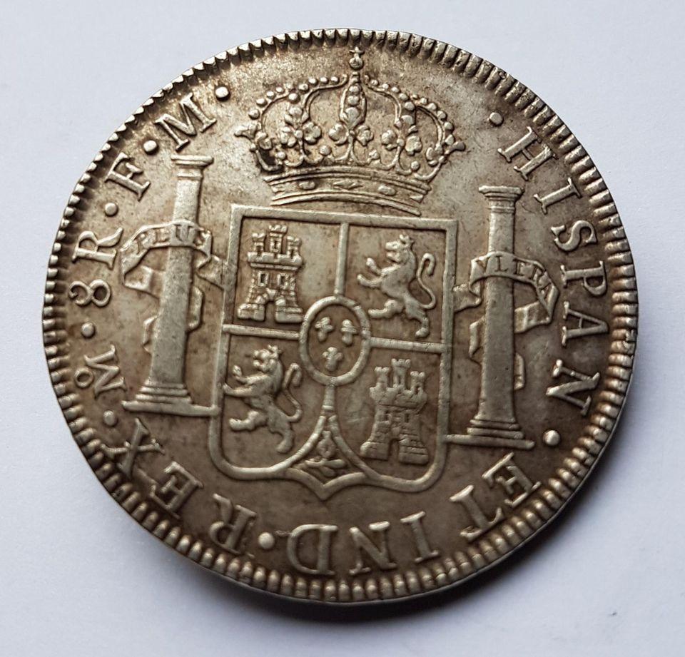 8 Réales 1784 Mexique 1784_r10