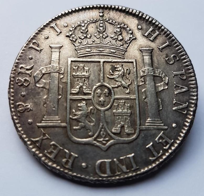 8 REALES 1817 BOLIVIE 181710