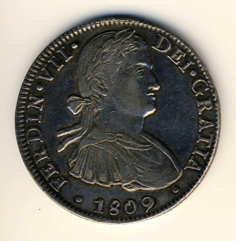 8 reales 1809. Fernando VII. Méjico Ferd10