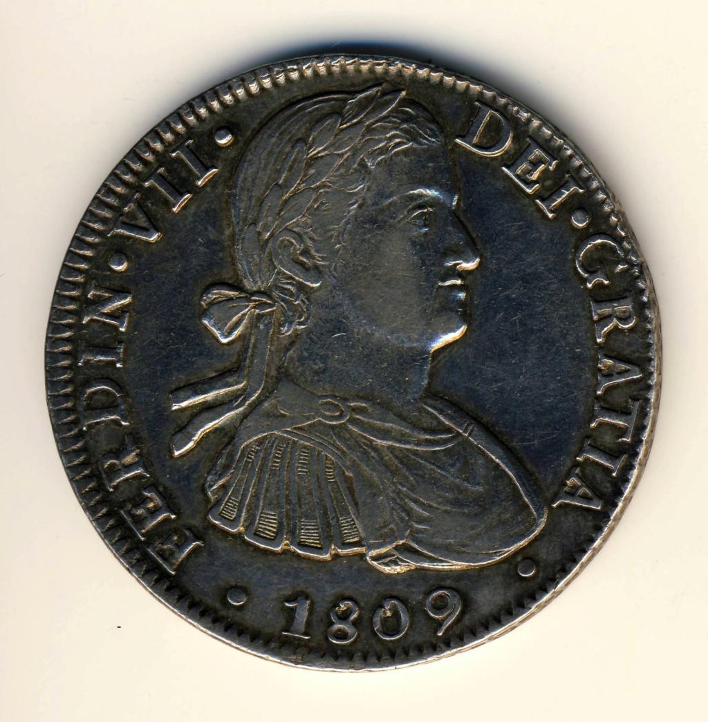 8 reales 1809. Fernando VII. Méjico. HJ Ferd11