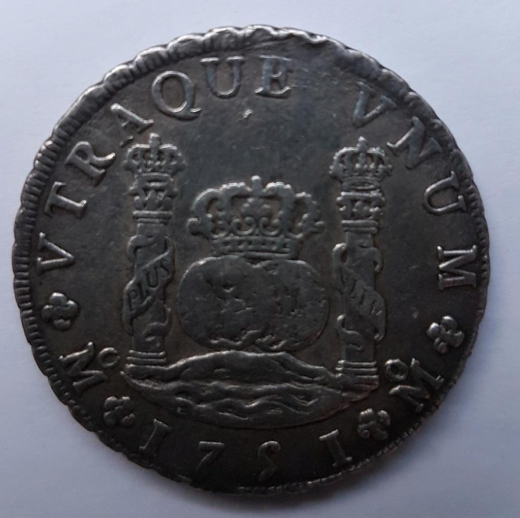 8 reales 1751 Mexique Thumbn11