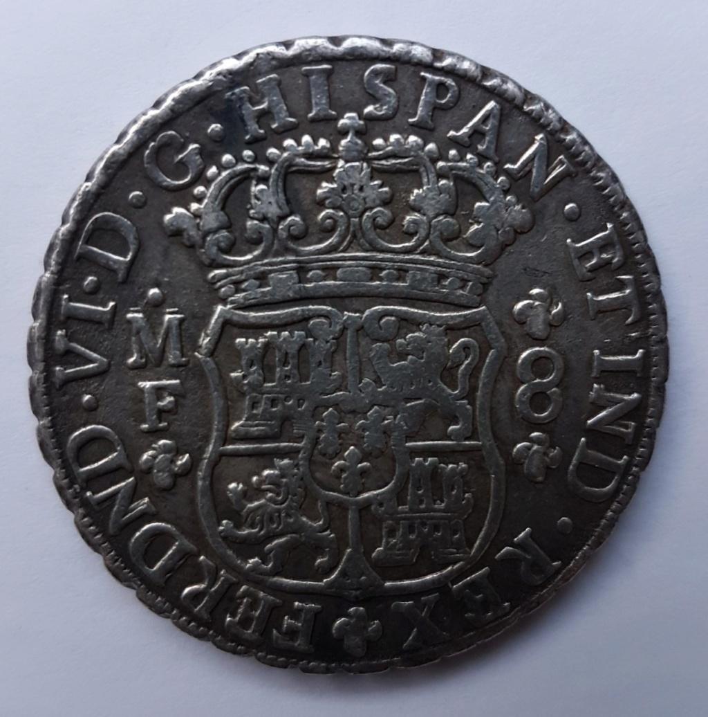 8 reales 1751 Mexique Thumbn12