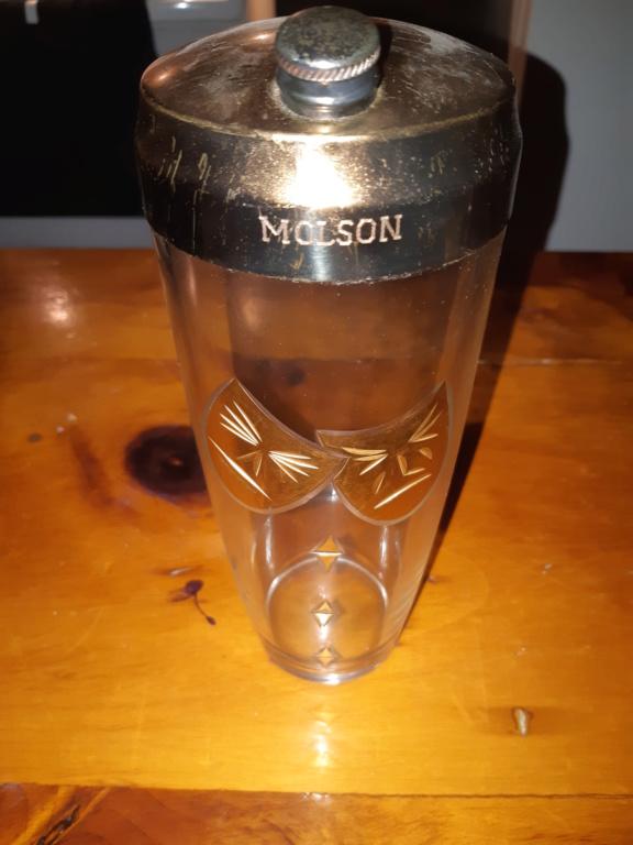 Verre ou bouteille molson ? 20190215