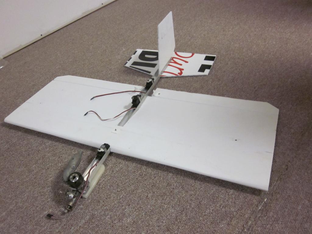 Crash proof 1/2A Stunt  plane  … ???   2014pl10
