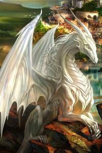 Алатея, белая драконица Alatey10