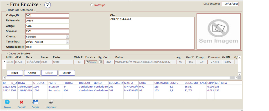 Formulário Desvinculado (Logica de programação para, Salvar, Editar e Excluir os registros)  Frmenc11