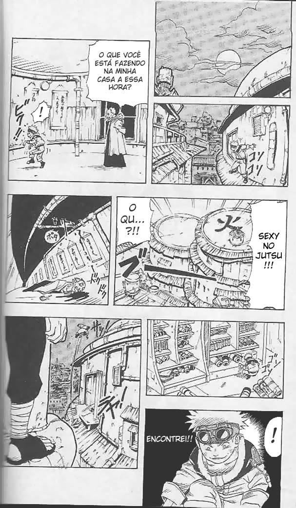 Como o Naruto roubou o pergaminho do Hokage 1810