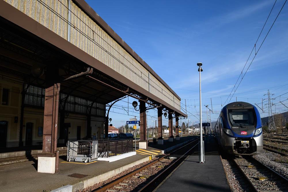 La gare de Montréjeau à l'échelle N Dsc_0910