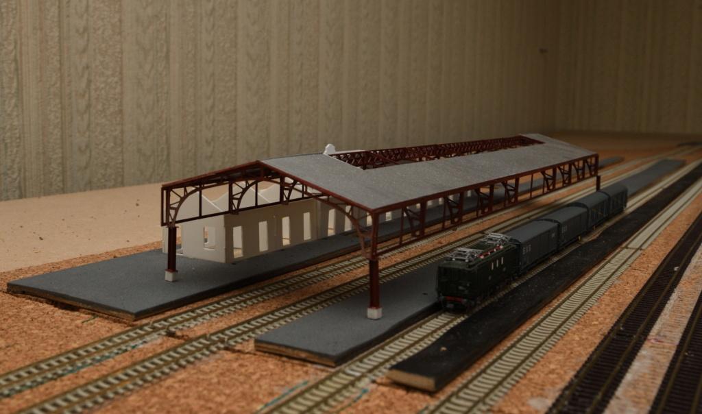 La gare de Montréjeau à l'échelle N Photo_12