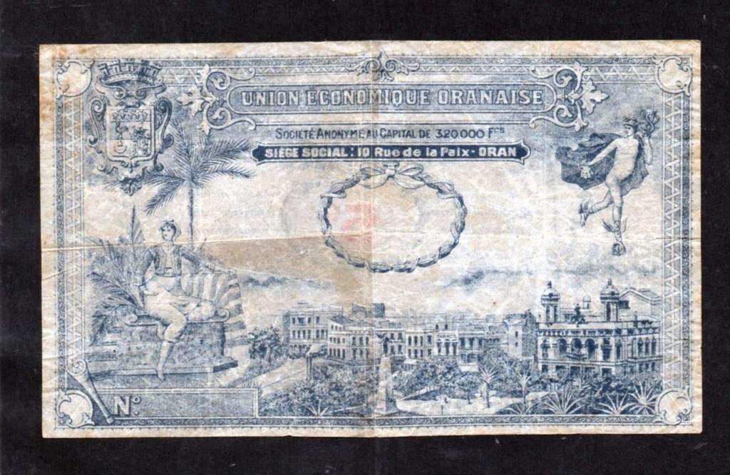 1,5 et 10 Francs Union économique oranaise et algérienne  Algérie  Receiv22
