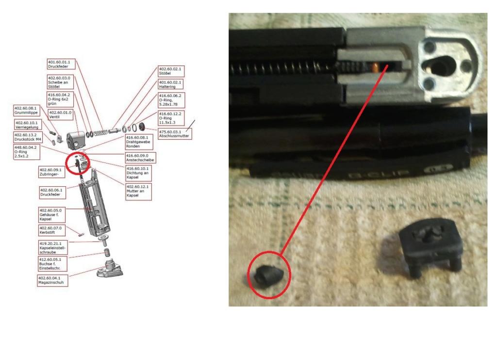 Gâchette en morceau sur le HK P30 d'Umarex Nrp0br10