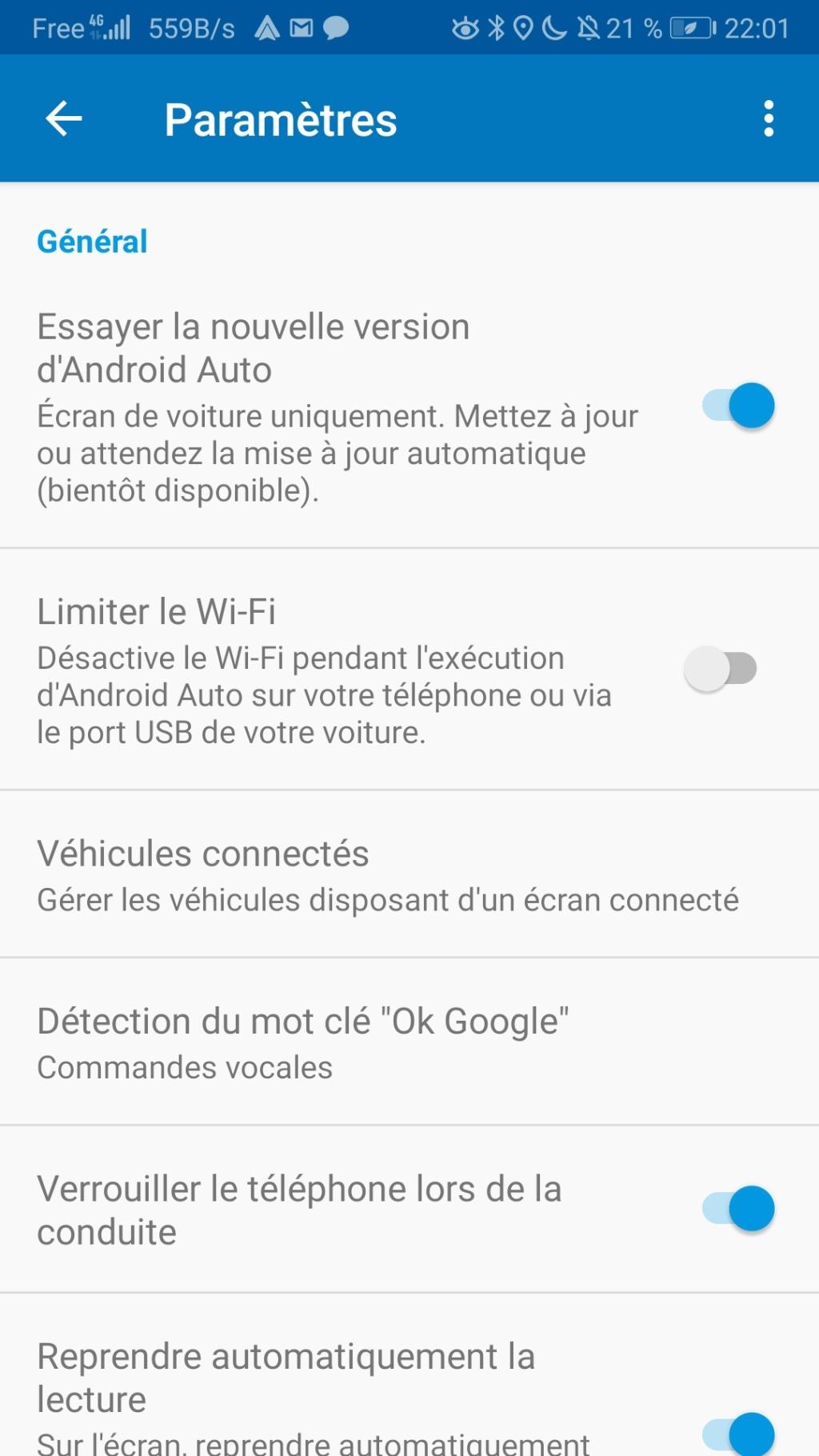 Problème d'affichage Android Auto avec Android 9 - Page 3 Screen10