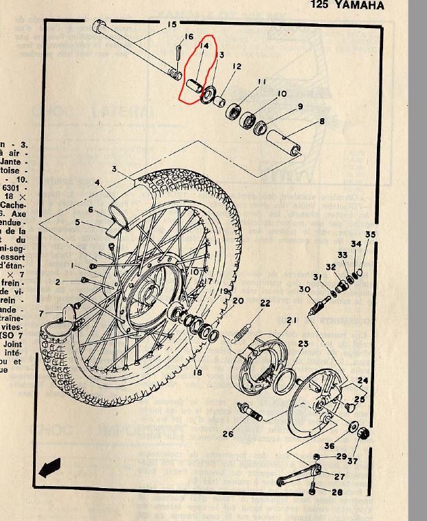 Remise en route DTMX 125 2A8 de 1977 - Page 8 Roue_a10