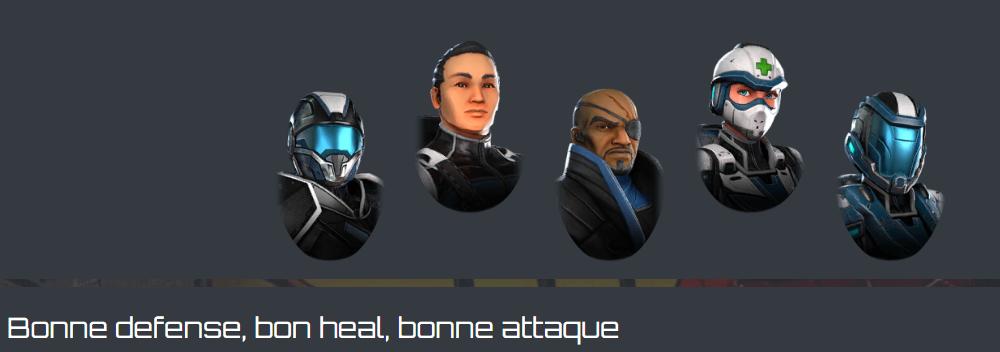 Les équipes Shield10