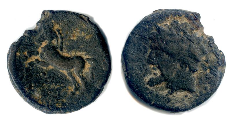 Monnaie ancienne Cheval10