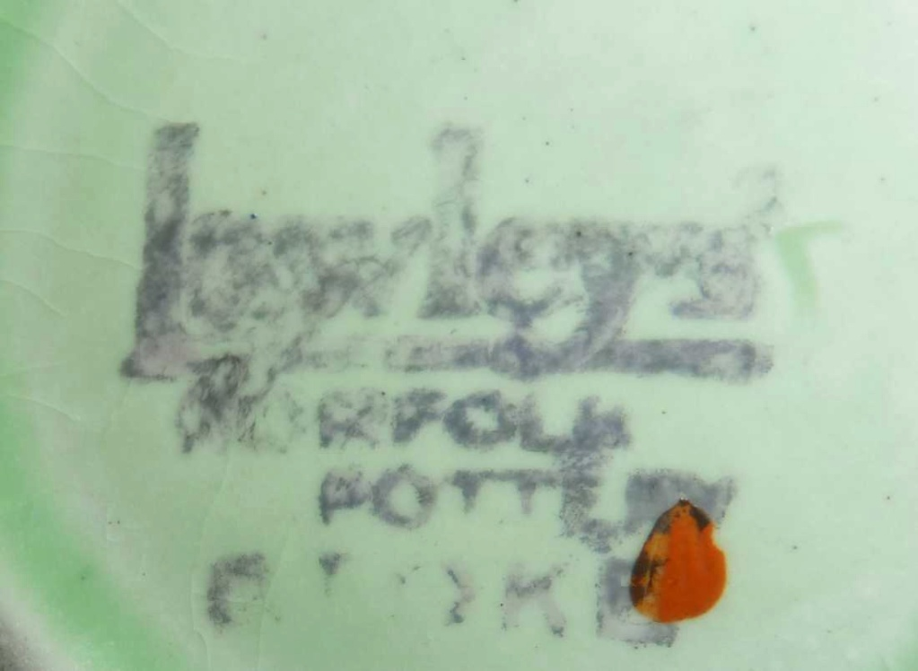 Lawleys Norfolk Pottery Stoke. Unusual Deco Coffee set. Help appreciated P1030411