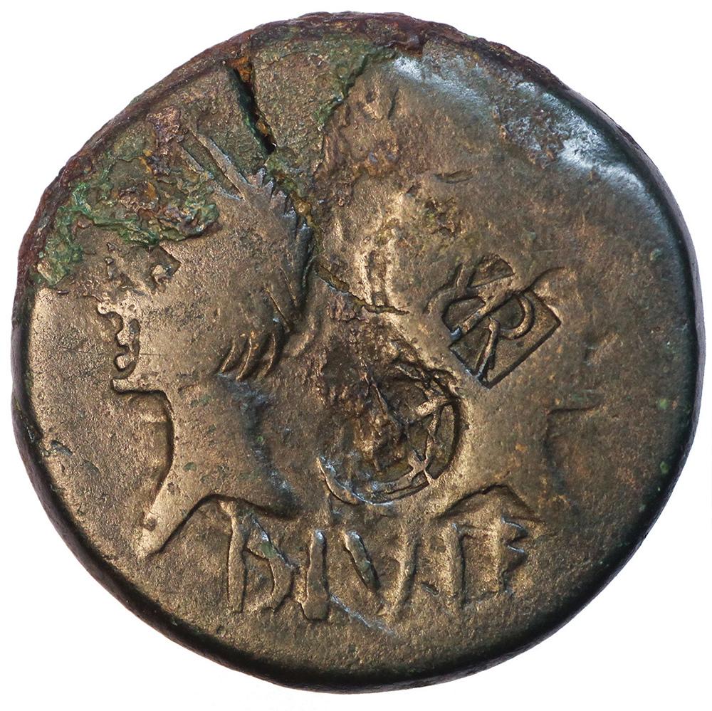 Les contremarques sur as de Nîmes Contre10