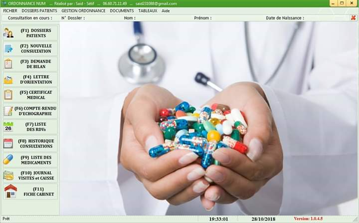 Gestion cabinet médical ORDONNANCE NUM - Page 2 Fb_img13