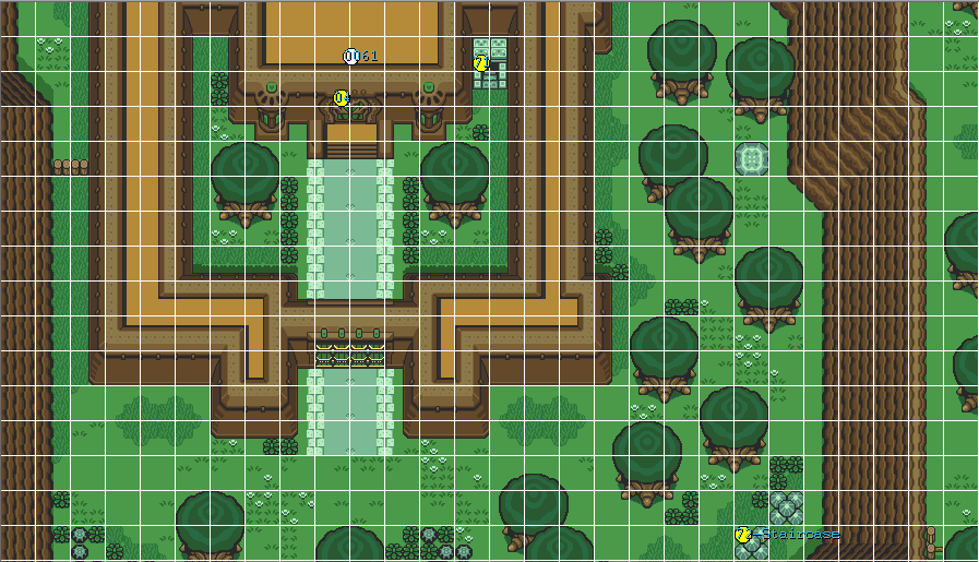 Is connecting entrances possible? Overwo11