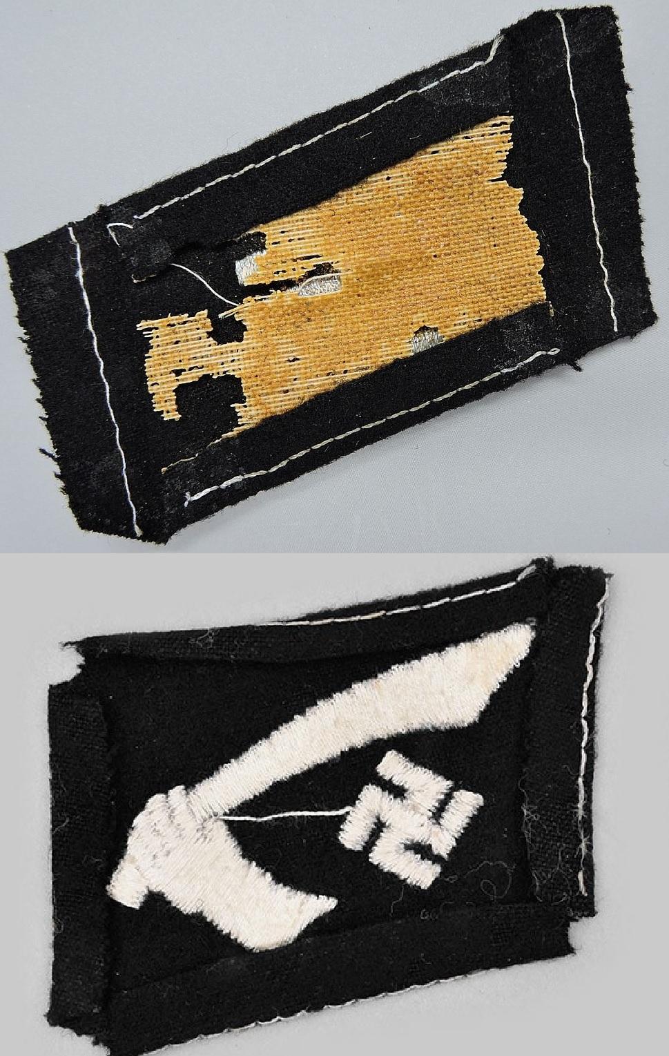 coin de col ss / divers insignes allemand a identifier merci  Sans_t10