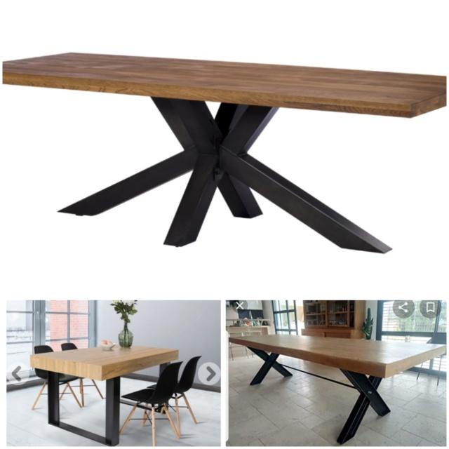 Demande modifiée - Personne pour me répondre svp ? :(  Quel style de table avec des meubles en merisier ? Table_14