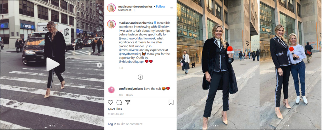 Madison Anderson Berrios, como toda una Miss Universo @ Miss Universe MUO HQ in New York Mu_off11