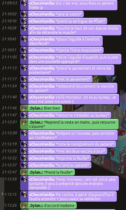 [C.H.U] Rapports d'actions Rôle Play de xChocoVanilla Dylan_61