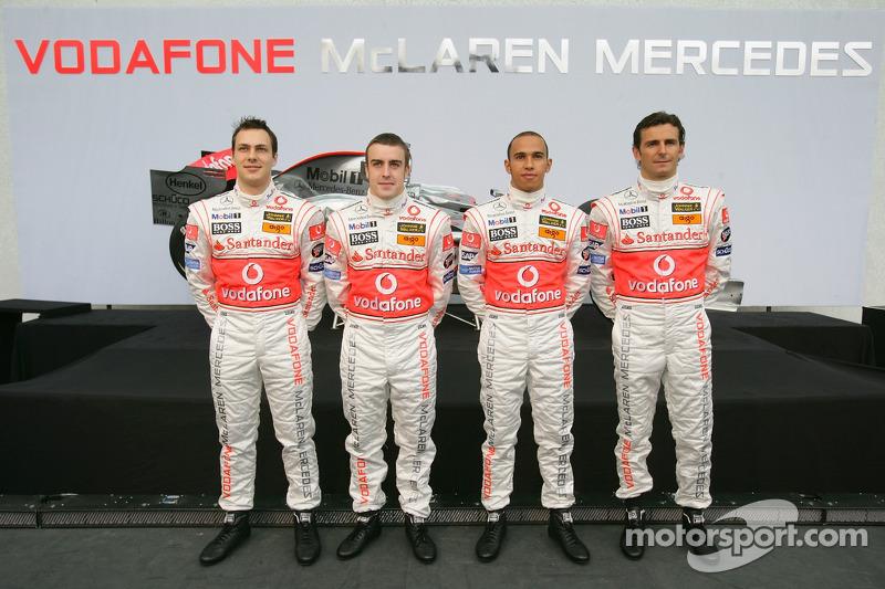 ¿Cuánto mide Antonio Lobato? - Altura F1-mcl10