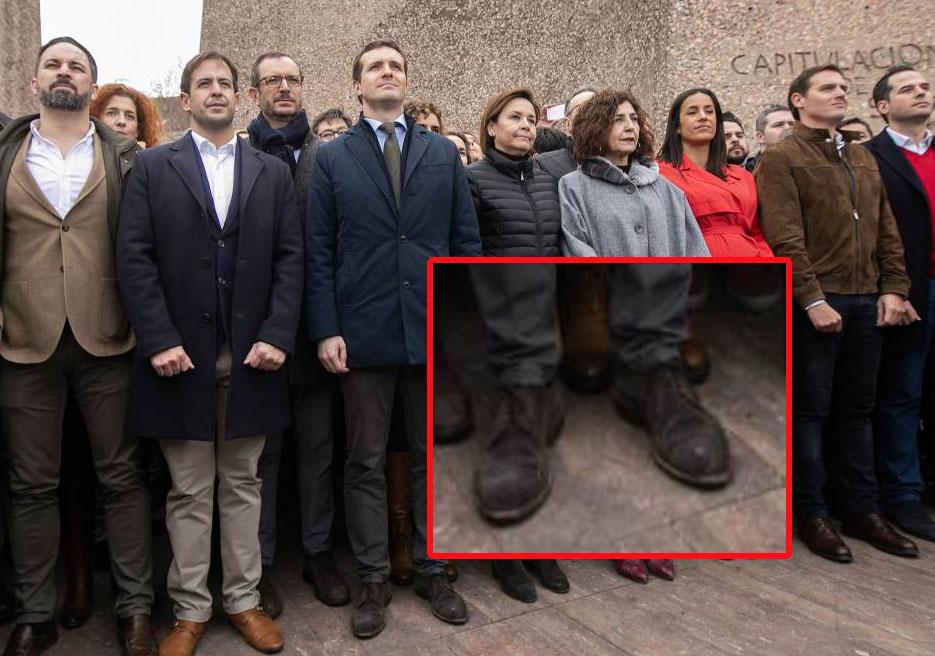 ¿Cuánto mide Pablo Casado?  - Estatura real: 1,77 - Página 14 Zapato10