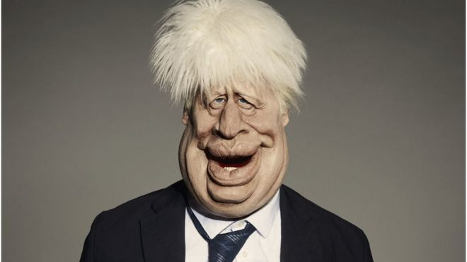 Boris Johnson: Spitting Image puppet unveiled ahead of relaunch _1138110