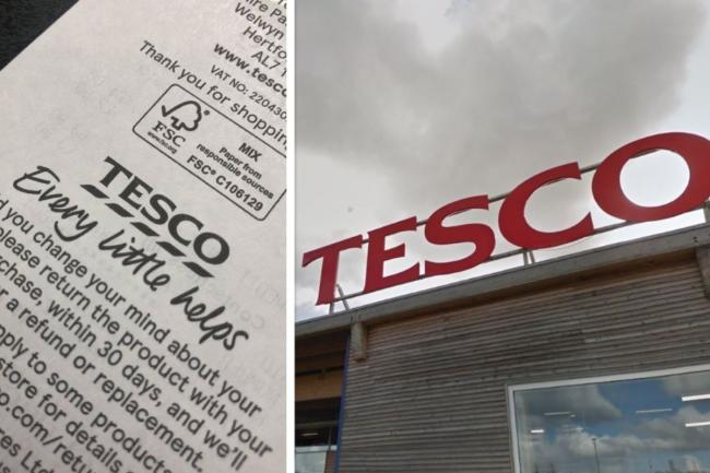 Tesco reveals its hidden message to shoppers on receipts Tesco_10