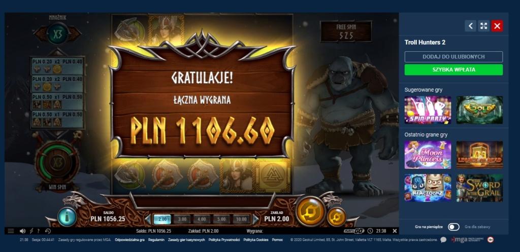 Screenshoty naszych wygranych (minimum 200zł - 50 euro) - kasyno - Page 9 Hunter10