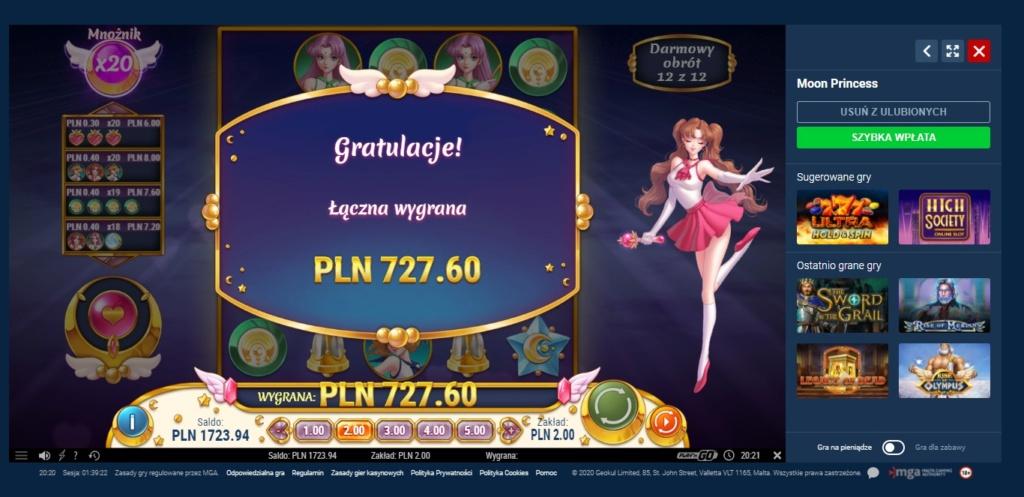 Screenshoty naszych wygranych (minimum 200zł - 50 euro) - kasyno - Page 9 Mon110