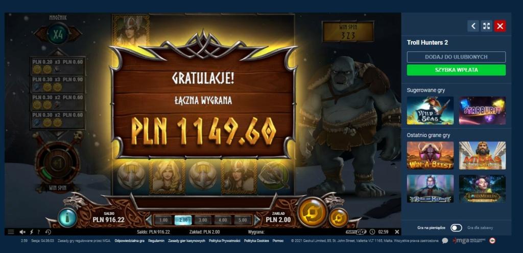 Screenshoty naszych wygranych (minimum 200zł - 50 euro) - kasyno - Page 16 Troll210