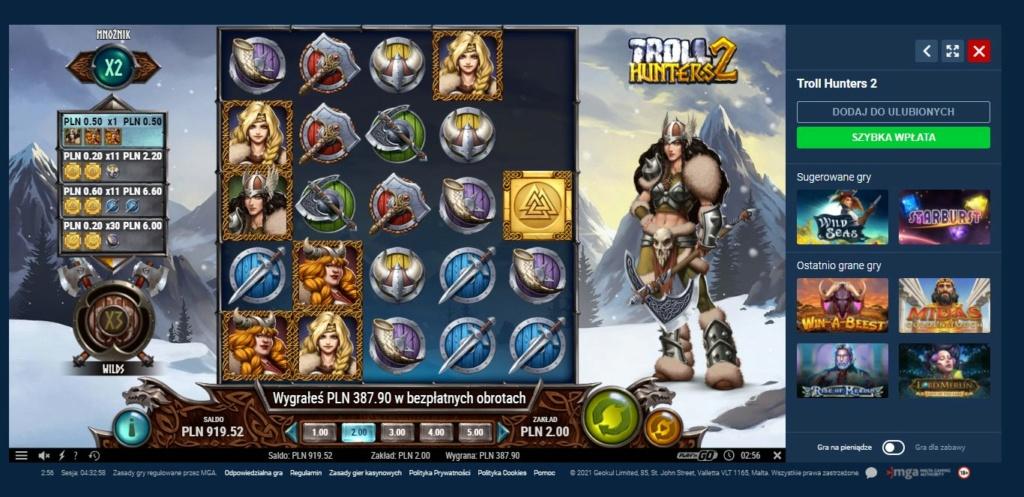 Screenshoty naszych wygranych (minimum 200zł - 50 euro) - kasyno - Page 16 Trolle10