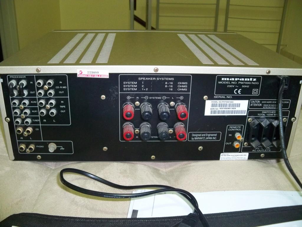 Marantz PM7000 Integrated Amplifier (Used) 105_2911